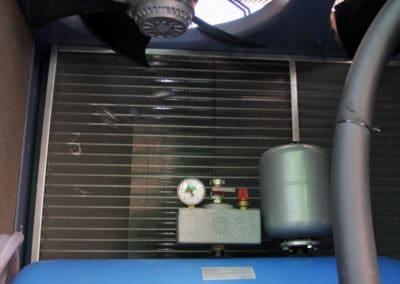 Холодильная машина. Накопительный бак.