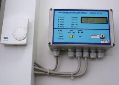 Техническая комната. Датчик кислорода.