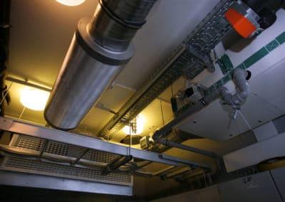 Техническая комната. Приточно-вытяжная установка GEA-Happel, Германия.